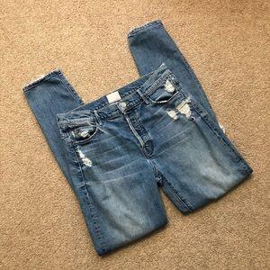 MOTHER X Candice The Stunner High Waist Jeans